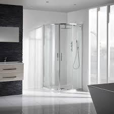 aquaglass 8mm sleek quadrant shower enclosure