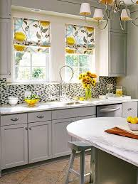 homey idea kitchen window curtain ideas decorating