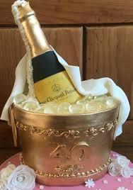 Champagne Bottle Champagne Bucket Cake Kelly In 2019 Birthday