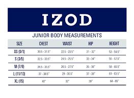 Juniors Xs Size Chart Izod Juniors Uniform Short Cap Sleeve Woven Shirt