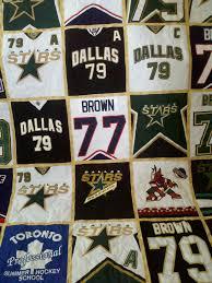 Sports jersey quilt | Maria The Quilter & hockey jersey quilt Adamdwight.com