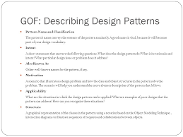 What Is Design Pattern Inspiration Software Engineering Design Patterns Introduction Ppt Video