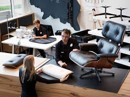 the eames office. In Close Coordination With The Eames Office, Vitra Developed New Larger Version So That Taller People, Too, Can Enjoy Same Exceptional Comfort Office