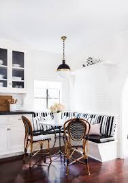 kitchen banquette furniture. Full Size Of Kitchen: Black Leather Kitchen Banquette Dark Wood Flooring Single Pendant Light Rounded Furniture D