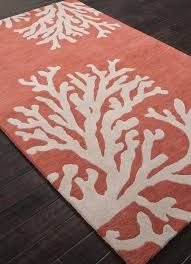 c colored rug bath rugs pottery barn salmon
