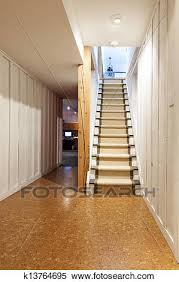 house stairs clipart. Delighful House Stock Image  Basement And Stairs In House Fotosearch Search  Photos Mural With House Stairs Clipart