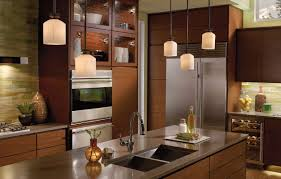 Pendant Lights For Kitchens Glass Pendant Lighting For Kitchen Two Tiered Island Breakfasat