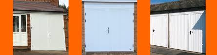 side hinged garage door s