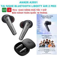 Tai nghe bluetooth ANKER A3951 TWS SoundCore Liberty Air 2 Pro ANC Chống ồn  chủ động - Tai nghe Bluetooth nhét Tai