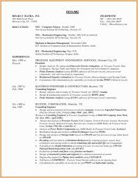 Recently Graduated Resume Mechanical Engineer Resume Pdf Free Resume Templates