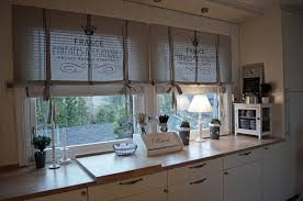 french country kitchen curtains ideas image and description