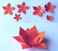 How To Make A Flower Out Of Paper Step By Step Paper Flowers Classroom Craft Activity Easy Make Paper Flowers