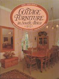 hard cover coffee table book in a neat condition a wonderful book packed with information and beautiful pictures of cottage furniture in south africa