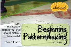 Pattern Making Classes Enchanting Beginning Patternmaking Online Class Whipstitch