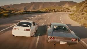 toyota supra fast and furious 7. La Toyota Supra De Brian Paul Walker Dans Fast Furious Intended And