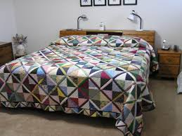 Scrappy King Size Bedspread