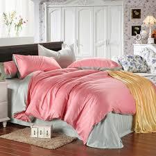 luxury pink bedding set light green bedspread queen duvet cover king size sheets double bed in a bag linen quilt double bedsheet gift queen comforter set