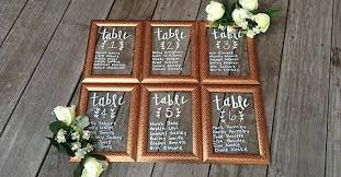 Diy Wedding Seating Chart Diy Framed Seating Chart For Weddings Events The Dollar