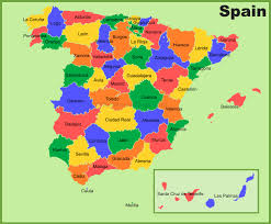 spain maps  maps of spain