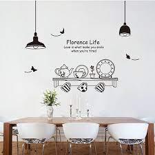 removable art vinyl kitchen style diy