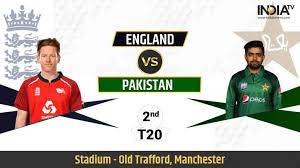 Live Streaming Cricket, England vs Pakistan 2nd T20I: ENG vs PAK stream live  cricket match on PTV Live SonyLIV JioTV | Cricket News – India TV