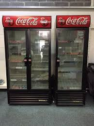 coca cola display fridge e coca cola commercial single double upright glass door display