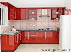 Small Picture Line Modular Kitchen Designer in India Call Bella Kitchens for