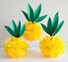 paper pineapples diy tissue paper tissue paper tutorials diy paper crafts tissue