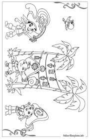 25 Zoeken Jake En De Nooitgedacht Piraten Kleurplaat Mandala