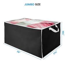 Amazon.com: Zober Jumbo Blanket Storage Bag, Breathable Nonwoven ...