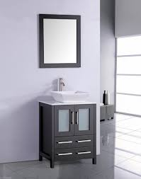 Legion Bathroom Vanity Legion 24 Inch Modern Vessel Sink Bathroom Vanity Espresso Finish