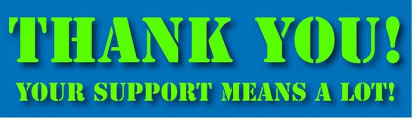 Image result for thank you for your support images