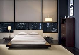 bed modern style bedroom