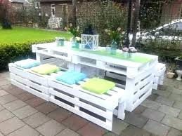 wood pallet furniture. Benches Made From Pallets Outdoor Pallet Bench Furniture Wood Outside O