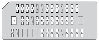 toyota 4runner fifth generation n280 from 2013 fuse box toyota 4runner fifth generation fuse box instrument panel