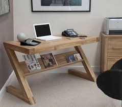 Opus Bedroom Furniture Opus Oak Z Style Office Desk Modern Oak Z Style Office Desk
