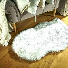 8x10 faux fur rug faux sheepskin rug gray fur fake medium size of area bear black