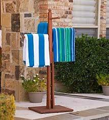 Outdoor Coat Rack For Hot Tub Towel holder for beside your Spa Hot Tub Stuff Pinterest Towel 2
