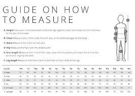 Size Guide Legowear Com