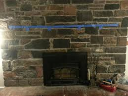 evaluate my plan to add wood mantel massive old stone fireplace any ideas or critiques would
