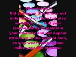is makeup haram in