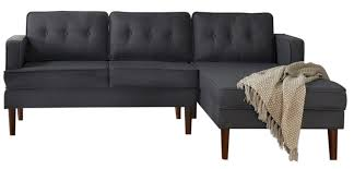 black stylish sectional sofa under 1 000