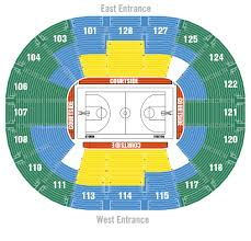 Key Arena Detailed Seating Chart Team Night Out Ticket Central