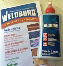 5 4 oz 160ml bottle weldbond glass mosaic tile glue adhesive sealer