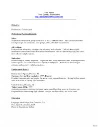 Travel Agent Resumes Resume Example Of Berathen Com Sample Job And