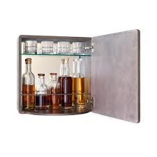 karvd ripple wall mounted liquor