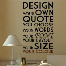 custom quote wall decal extra large create your own custom wall quote design  sticker extra large
