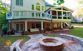 Featured Deck Porch and Patio Designs photos Tennessee Custom 12