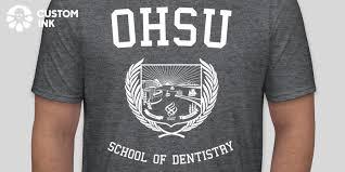 OHSU School of Dentistry Custom Ink Fundraising