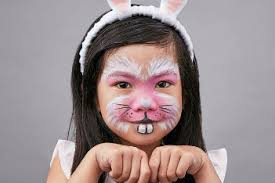 Small Picture Face painting tutorial How to turn your kid into a fluffy pink bunny